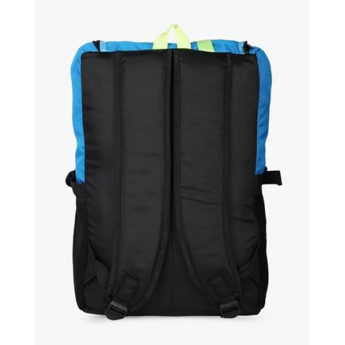 AJIO Colourblock Laptop Backpack
