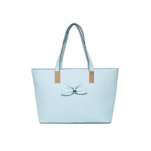Dune London Blue Solid Shoulder Bag