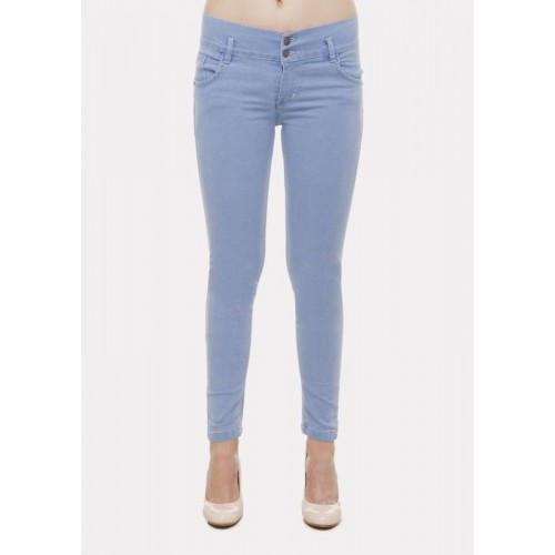 Ziva Fashion Super Skinny Women Light Blue Jeans