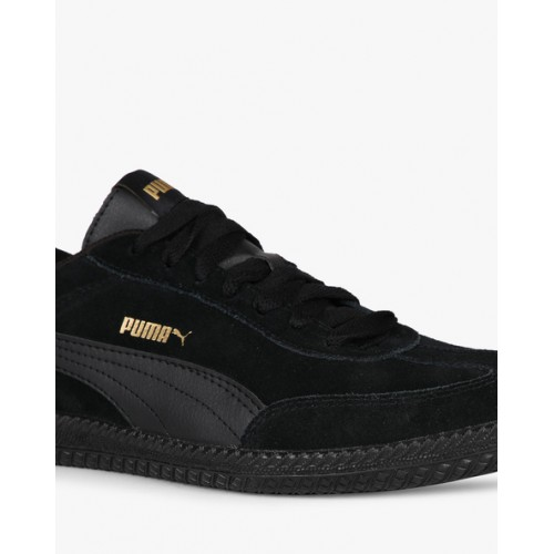 35f0e8bd Buy Puma Unisex Black Astro Cup Suede Sneakers online | Looksgud.in