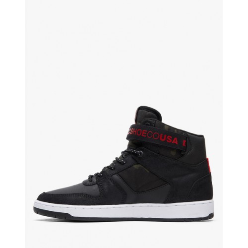 DC Shoes Pensford High-Top Panelled Sneakers