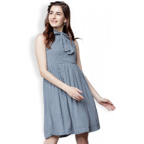 29c0b5eea Buy Tokyo Talkies Women s Maxi Blue Dress online