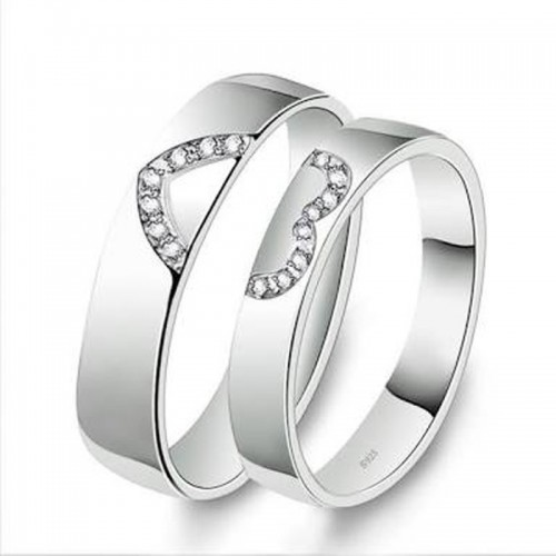 Magic Couple Ring Size 7 & 9 Stainless Steel Ring Set