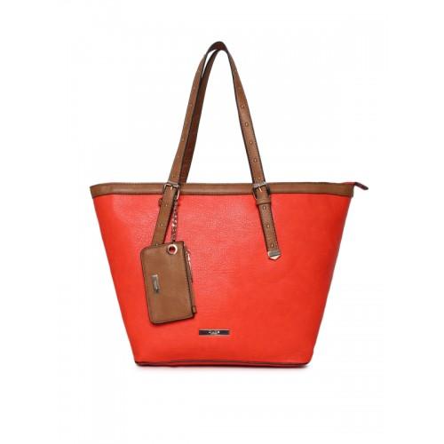 Dune London Red Solid Shoulder Bag