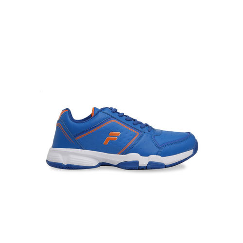 Buy FILA Men Blue Tennis Shoes online  ff8a7db59aa2d