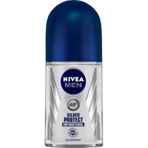 Nivea Men Silver Protect Deodorant Roll-on  -  For Men(50 ml)