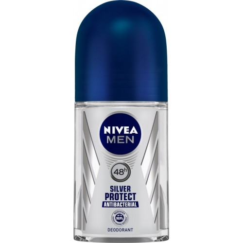Nivea Men Silver Protect Deodorant Roll-on  -  For Men(50 ml)