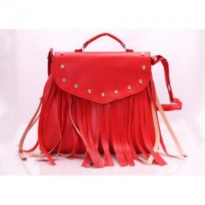 Virushka Red Synthetic Sling Bag