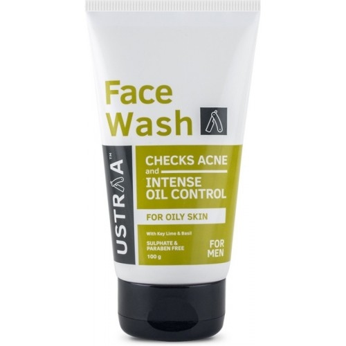 Ustraa Oily Skin (Checks Acne & Oil Control) 100gm Face Wash(100 g)