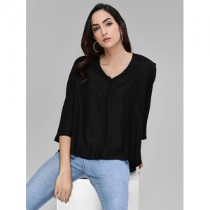 Femella Basic High-Low Shirt