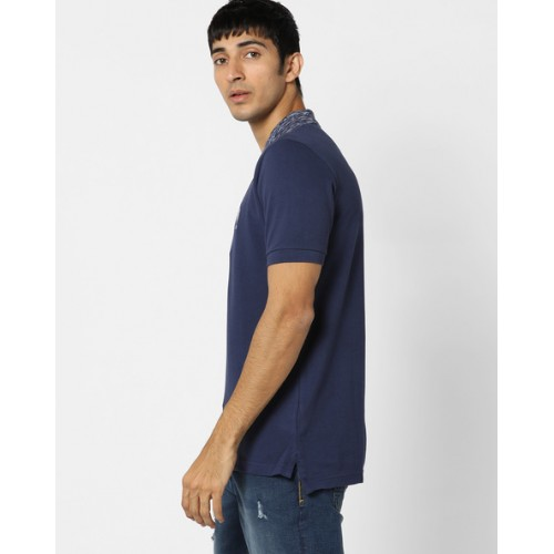 U.S. Polo Assn. Polo T-shirt with Textured Collar