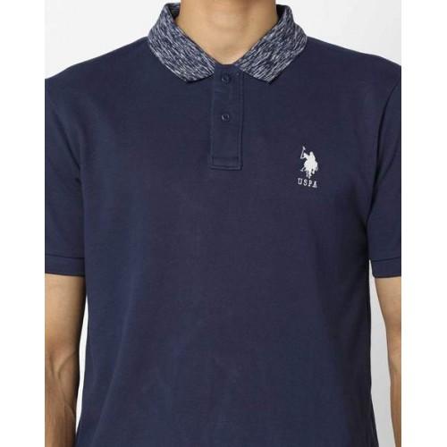 U.S. Polo Assn. Polo T-shirt with Textured Collar