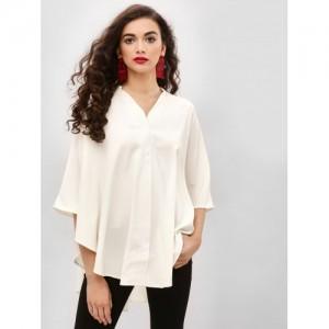 Femella Oversized Button Down Shirt