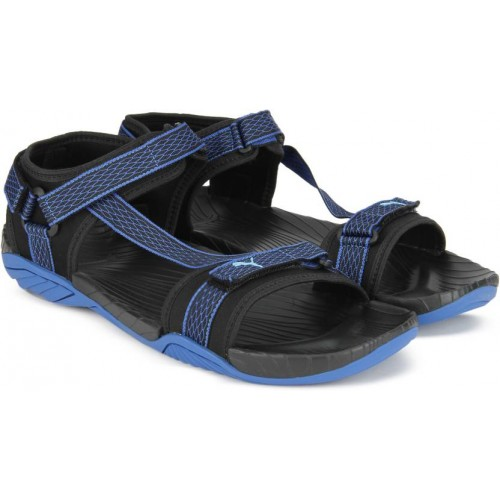 dc0f027c3471 Buy Puma Men Black Sports Sandals online