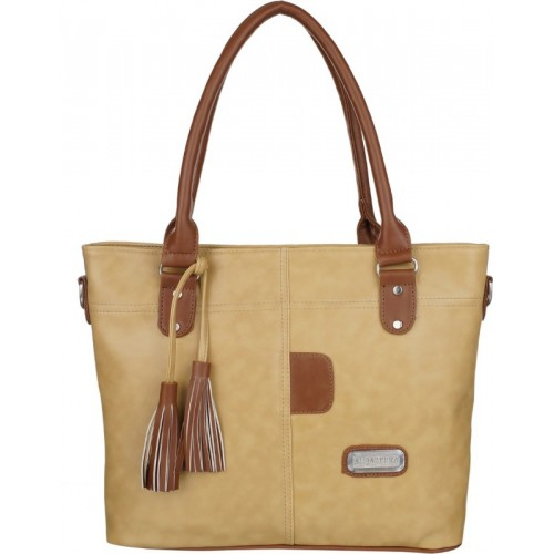 Al Jazeera Shoulder Bag(Beige)