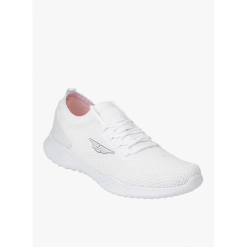 Red Tape White Walking Shoes For Men