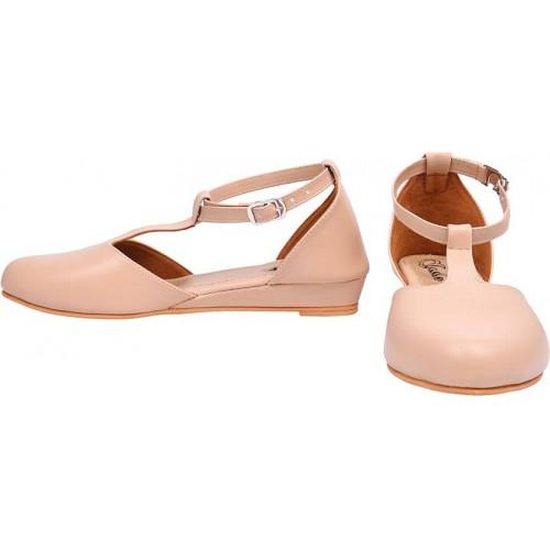 Jade Women Beige Wedge Sandal