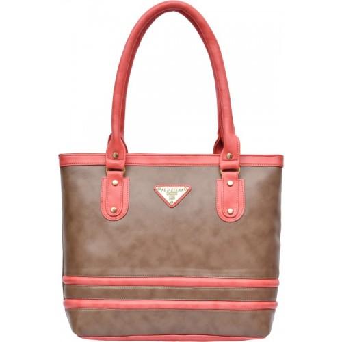 Al Jazeera Shoulder Bag(Khaki, Pink)