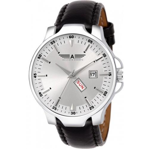 Allisto Europa AEH-142 Day & Date Display Watch  - For Men