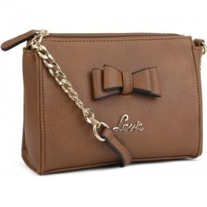 ab661de4ad4 Buy Lavie Women Casual Red Leatherette Sling Bag online