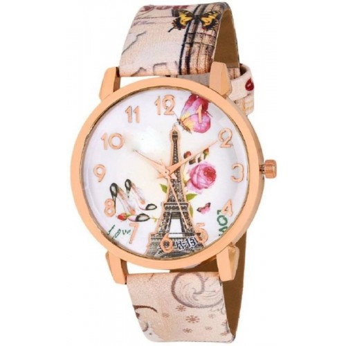 Rizzly Delicate Petals Colourful Watch  - For Women