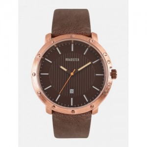 Roadster Unisex Copper-Toned Analogue Watch PN-SNT-E24