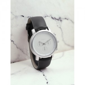 ether Unisex White Analogue Watch MFB-PN-SNT-E12
