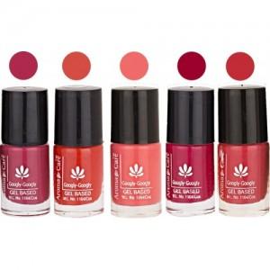 Aroma Care Mab Multicolor Nail Polish Combo 809201605 Multicolor(Pack of 5)