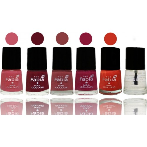 Buy Fabia Nail Polish Matte Look Attractive Your Nails Light Pink ...