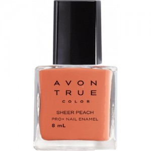 Avon True Color NWP+ 8ml - Sheer Peach SHEER PEACH