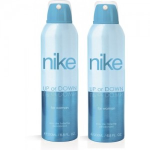 Nike Up Or Down Deodorant Spray  -  For Women(400 ml, Pack of 2)