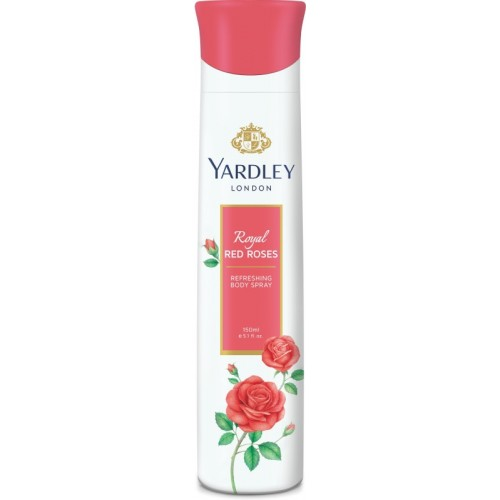 Yardley London Red Roses Body Spray  -  For Women(150 ml)