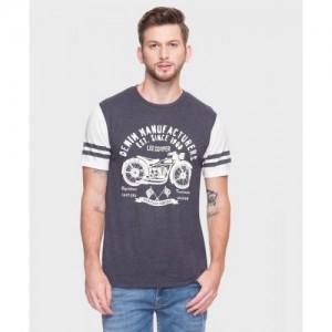 c88ec526e Lee Cooper FBB - Lee Cooper Printed Men Round Neck Grey T-Shirt