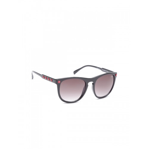 Lee Cooper Red Unisex Oval Sunglasses LC9053