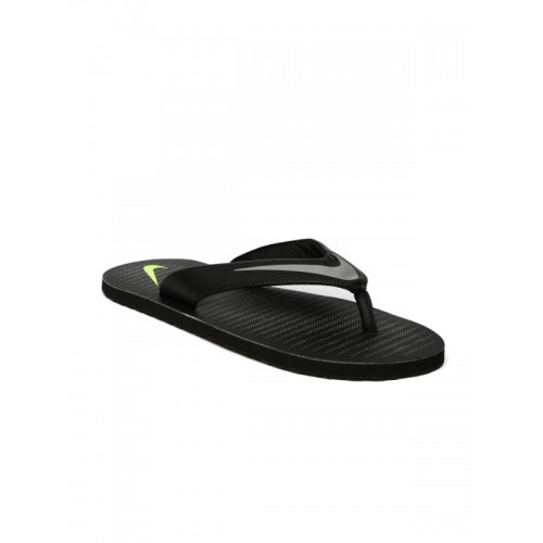 Nike Men Black Printed Chroma Flip-Flops