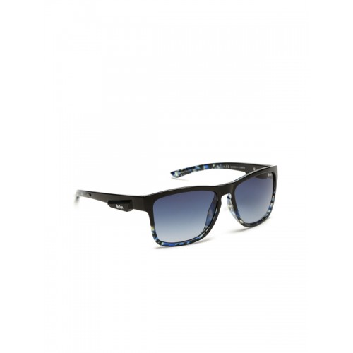 Lee Cooper Unisex Rectangle Sunglasses LC9113SVB
