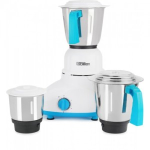 Billion MG110 550 W Mixer Grinder(White, 3 Jars)