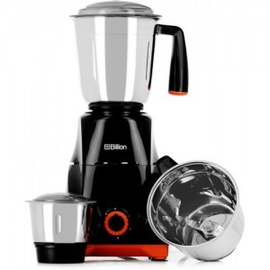 Billion Power Grind 750 W Mixer Grinder(Black, 3 Jars)