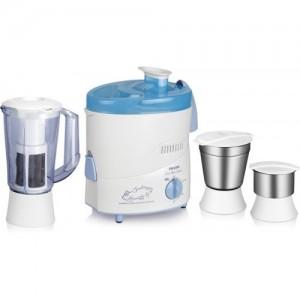 Philips HL1632 500 W Juicer Mixer Grinder(Blue, 3 Jars)