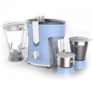 Philips HL7576/00 600 W Juicer Mixer Grinder(Blue, 3 Jars)