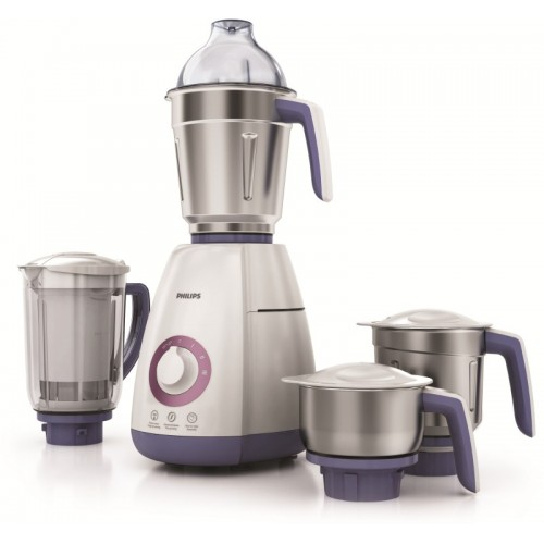 Philips HL7701/00 750 W Juicer Mixer Grinder(White, 4 Jars)