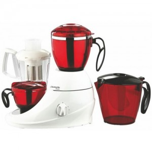 Butterfly Desire 750 W Mixer Grinder(Red, 3 Jars)