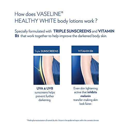 Vaseline Healthy White Complete 10 Body Lotion, 300ml