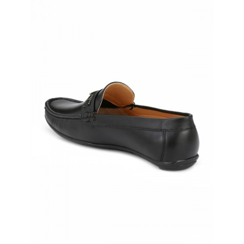 Guava Men Black Loafers