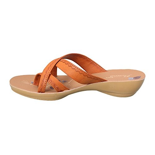 Action Shoes Women's Orange Chappal