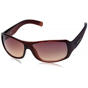 Fastrack Brown Wrap Sunglasses (P089BR2)