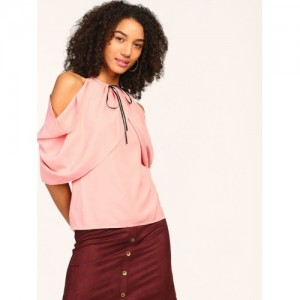 StalkBuyLove Women Rose Solid Top