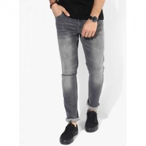 Jack & Jones Slim Men's Grey Jeans