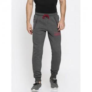 Puma Grey Slim Fit STYLE Pocket Pants Joggers