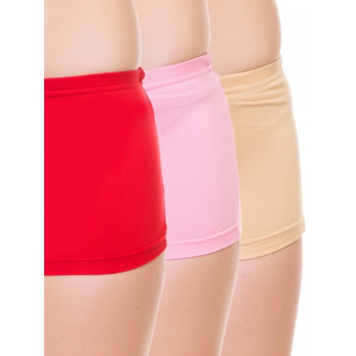 Lady Lyka Pack of 3 Solid Boy Short Panties 2491042